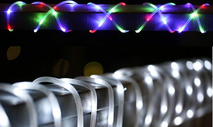 Solar LED Rope Light Groupon Goods