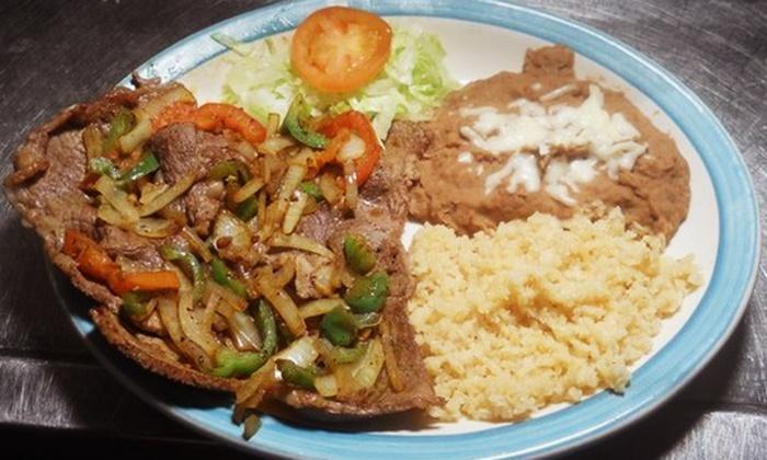 Rostizeria Los Reyes - El Pueblo: Mexican Food at Rostizeria Los Reyes (50% Off). Two Options Available.