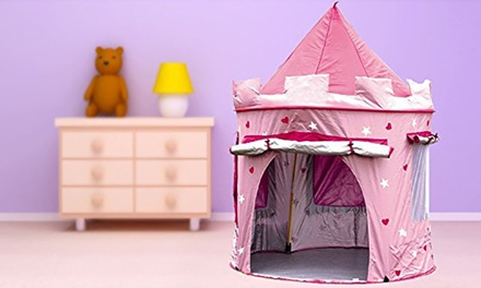 PopUp Castle Play Tent in Pink for £19.99