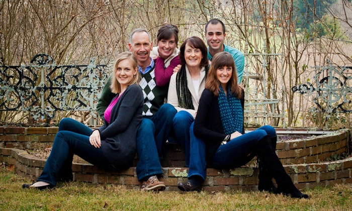 Thornhill Photography - Asheville: $45 for Family Photo Shoot at Thornhill Photography ($150 Value)