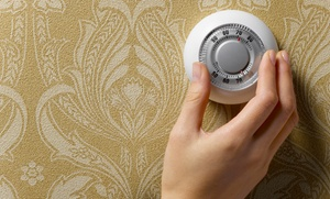 Empire Plumbing, Heating, A/C & Electric: $39 for a Factory-Fresh Home-Heater Tune-Up from Empire Plumbing, Heating, A/C & Electric ($149 Value)