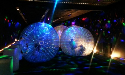 Eight Indoor Double-Inflated Bubble Sessions at Monster Bubbles (Up to 50% Off)