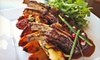 Boubouffe Mediterranean Grille - Belmont Shore: Mediterranean Cuisine and Drinks at Boubouffe Grille (Half Off). Two Options Available.