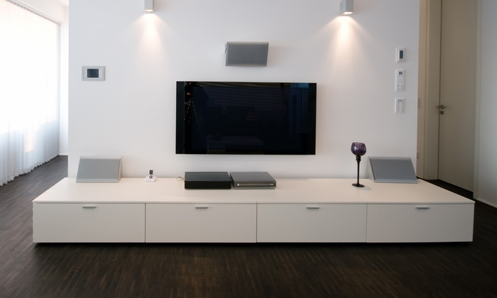 """Orange TV Installation - Orlando: $79 for Installation of TV Up to 75"""" & In-Wall or Wire Molding from Orange TV Installation ($159 Value)"""