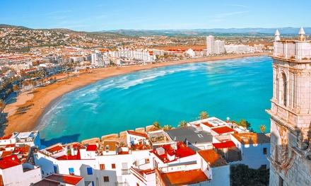 Peñíscola: habitación doble para hasta 4 personas con pensión completa y acceso a spa en Ágora Spa & Resort 4*