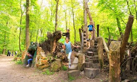 Eintritt in den Abenteuer Spielpark inkl. Minigolf für 1 Person im Speelpark Klein Zwitserland (54% sparen*)