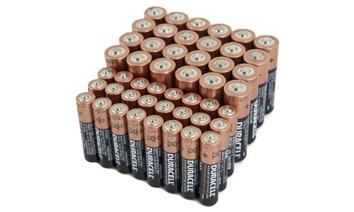 Duracell CopperTop Batteries (48-Pack)