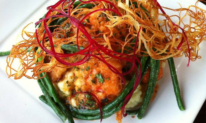 Boubouffe Grille - Belmont Shore:  $24 for $40 Worth of Mediterranean Cuisine and Drinks at Boubouffe Grille