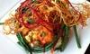 40% Off Mediterranean Cuisine at Boubouffe Grille