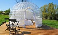 Isère: 1 ou 2 nuits en bulle, cabane ou pigeonnier avec champagne, repas et vélo en option au Domaine de Suzel pour 2