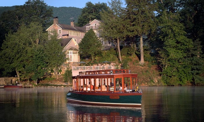 The Greystone Inn by Natural Retreats - Lake Toxaway, NC: Stay with Champagne Cruise at The Greystone Inn by Natural Retreats in Lake Toxaway, NC. Dates into November.