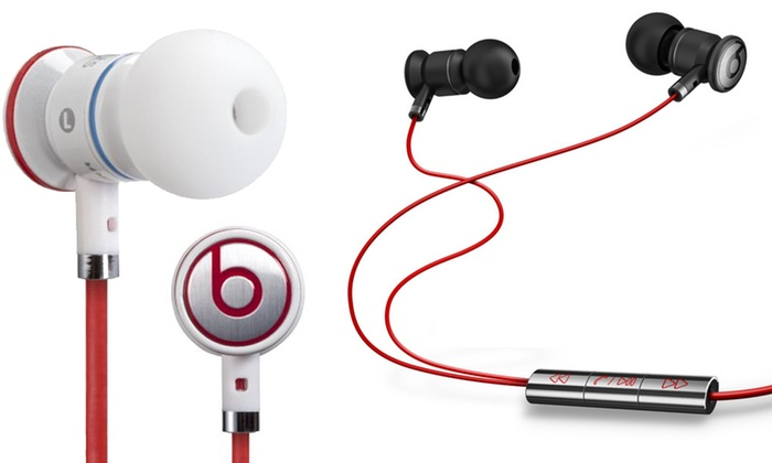 f4837063a1a Monster Beats by Dr Dre Earphones   Groupon