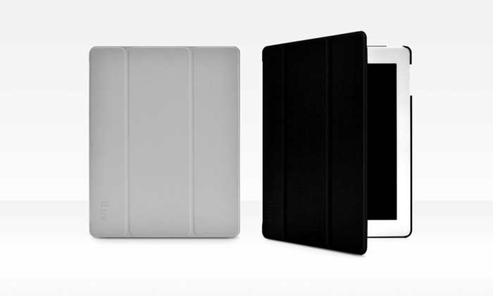 iLuv Epicarp Folio Cover for iPad 2, 3, and 4 with Retina Display: iLuv Epicarp Slim Folio Cover for iPad in Black or Gray. Free Returns.