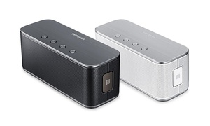 Samsung Level Box Bluetooth Wireless Speaker  at Samsung Level Box Bluetooth Wireless Speaker, plus 9.0% Cash Back from Ebates.