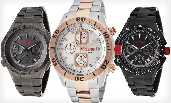 Men's Red Line Watches: Men's Red Line Watch (Up to 91% Off). 11 Options Available. Free Shipping.