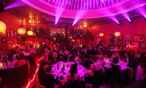 Proud Cabaret Brighton: Cabaret and Burlesque Show with a Three-Course Dinner and Glass of Prosecco for One at Proud Cabaret Brighton (54% Off)