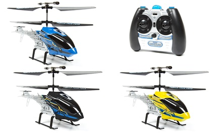 World Tech Toys Rex Hercules Unbreakable Two-Channel IR RC Helicopter