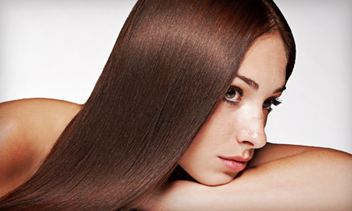 Utopia Salon and Day Spa - Downtown Elizabeth: One or Two Keratin Smoothing Treatments at Utopia Salon and Day Spa (Up to 80% Off)