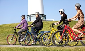 Active Movement: Electric-Bike Tours and Rentals from Active Movement (Up to 78% Off). Seven Options Available.