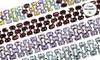 3-Row Gemstone Tennis Bracelets