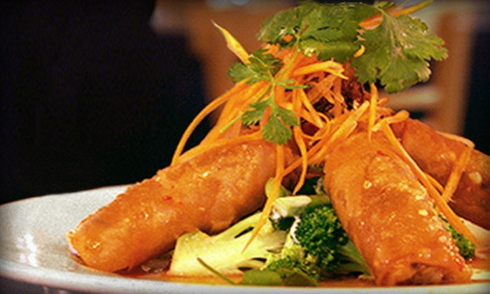 Thai House - North Burnet: $11 for Two Groupons, Each Good for $10 Worth of Thai Cuisine at Thai House ($20 Total Value)