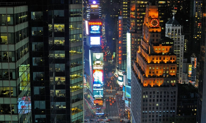 DoubleTree Suites by Hilton Hotel NYC - Times Square - New York City: Stay at DoubleTree Suites by Hilton Hotel New York City - Times Square, with Dates into January