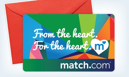 $17 for a One-Month Membership Gift to Match.com (Up to $41.99 Value)