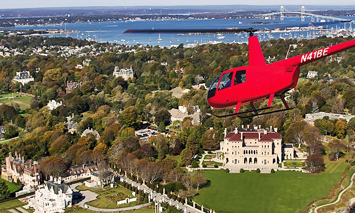Bird's Eye View Helicopters - Middletown: $121 for a Helicopter Tour for up to Three from Bird's Eye View Helicopters ($195 Value)