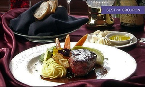 Briarhurst Manor Restaurant: Five-Course Upscale Dinner for Two or Four at Briarhurst Manor Restaurant (Up to 32% Off)