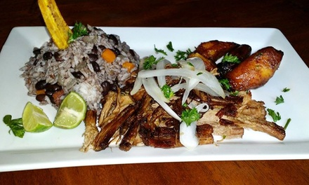 Latin Dinner Food for Two or Four at Latin Chicks Restaurant (Up to 50% Off)