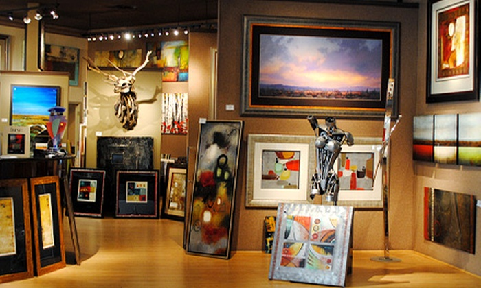 Think Art - North Scottsdale: Custom Framing Services and Mirrors at Think Art (Half Off). Two Options Available.