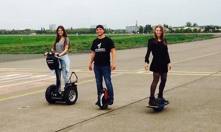 Solowheel, Airwheel, Hovertrax, ZBoard oder Onewheelskateboard fahren für 1-10 Personen bei Steckdose Berlin ab 35 €