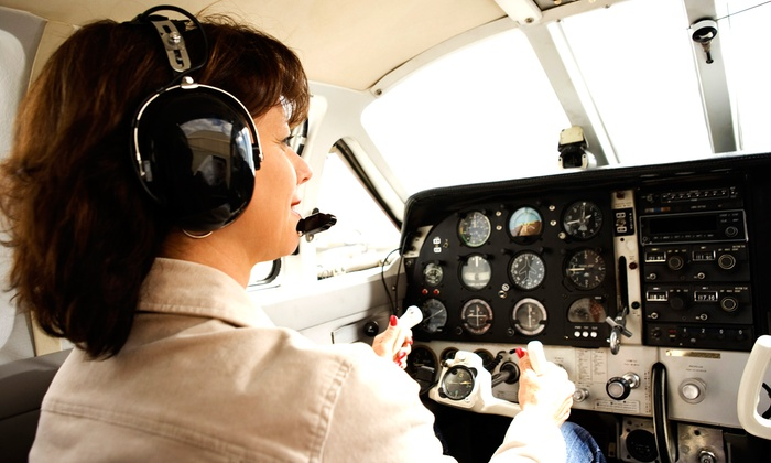 Cirrus Air Express - Multiple Locations: $169 for an Introductory Flight Class with One Hour of Flight Time at Cirrus Air Express ($350 Value)