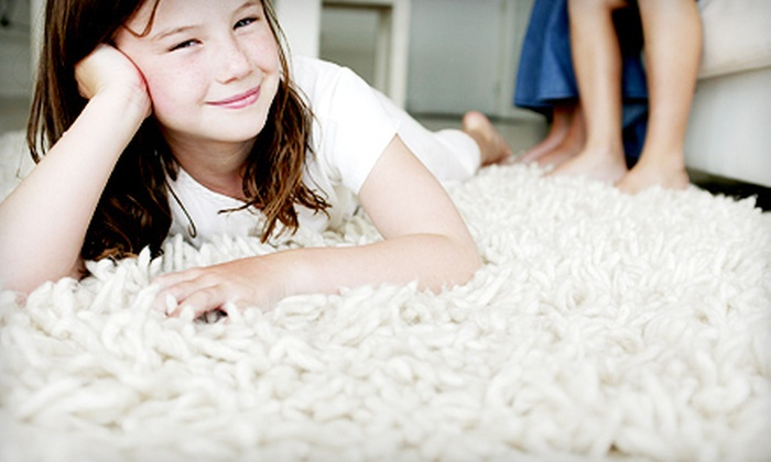 Green's Discount Carpet Cleaning - Kansas City: Three Rooms of Carpet Cleaning or Cleaning for One Area Rug from Green's Discount Carpet Cleaning (Up to 64% Off)