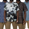 Verdo Men's Short Sleeve Pattern and Plaid Button Downs