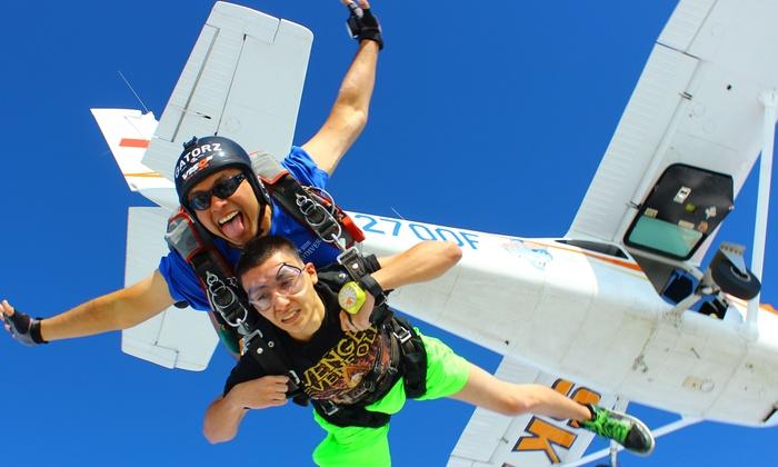 Blue Skies Skydiving Center - Blue Skies Skydiving Center: Up to 41% Off Skydiving  at Blue Skies Skydiving Center