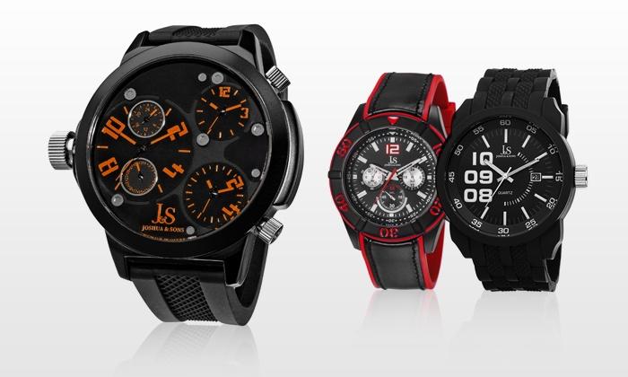 TWI Watches, LLC: Montres Joshua & Son, 10 modèles au choix dès 49€ (livraison offerte), jusqu'à 81% de réduction