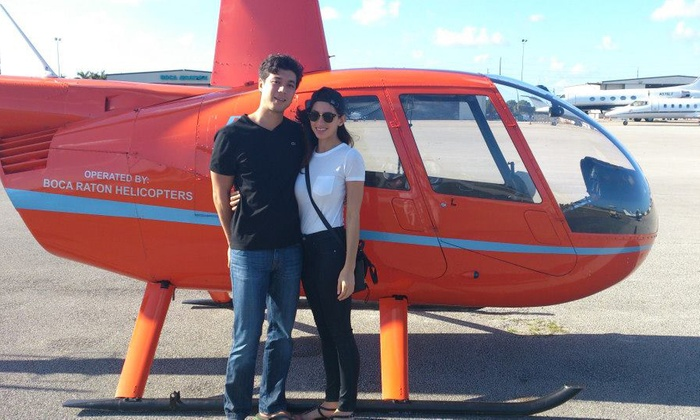 Southern Helicopters - Lake Worth: $148 for Helicopter Ride for Up to Three from Southern Helicopters (Up to $297 Value)