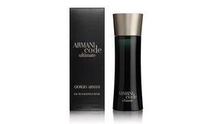 Armani Code Ultimate By Giorgio Armani Eau De Toilette Intense For Men; 2.5 Fl. Oz.