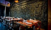 Doma Polo Bistro - Park West: Three-Course Argentine Prix Fixe Dinner for Two or Four with Wine and Valet Parking at Doma Polo Bistro (Up to 58% Off)