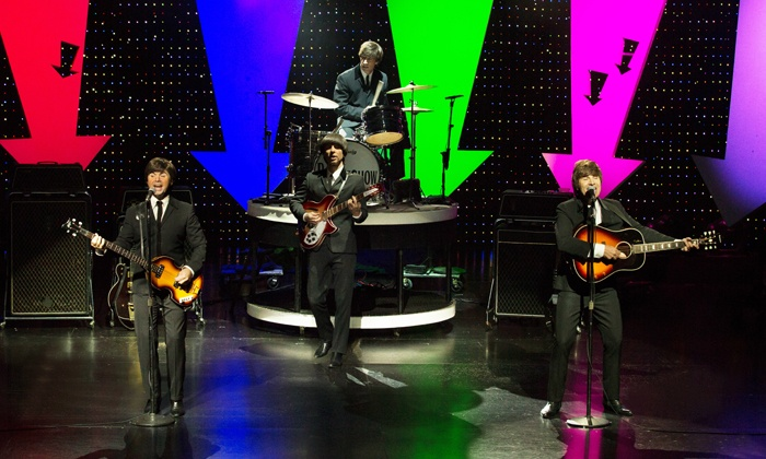 """B - A Tribute to The Beatles - V Theater: """"B – A TRIBUTE to The Beatles"""" for One or Two at Saxe Theater (Up to 72% Off)"""