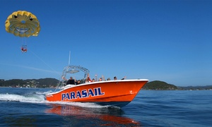 Flying Kiwi Parasail: Paihia Parasailing Experience for One ($69) or Two People ($115) at Flying Kiwi Parasail (Up to $190 Value)
