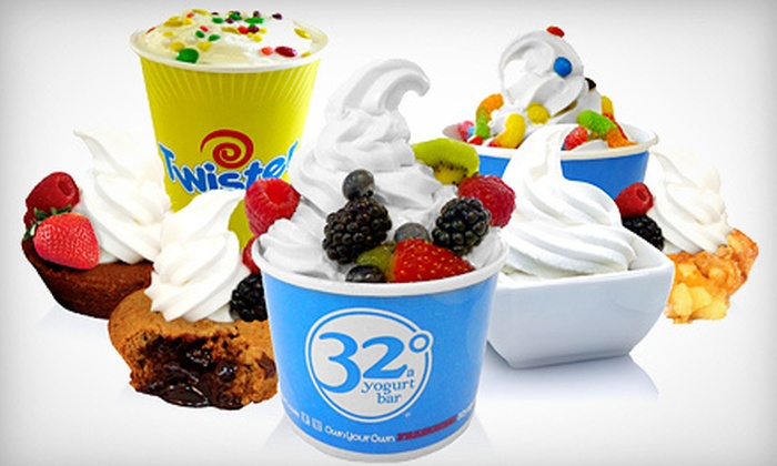32 Degrees A Yogurt Bar - Huntsville: $6 for $12 Worth of Frozen Yogurt at 32 Degrees A Yogurt Bar