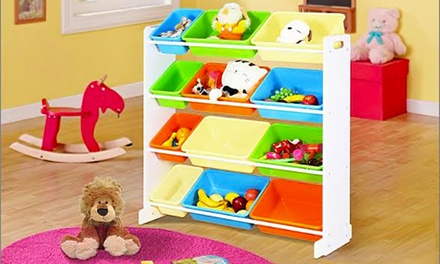 Toy Organiser in Choice of Size and Colour from AED 249 (Up to 59% Off)