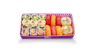 Eat sushi Lyon 2ème: Menu « Eat 20 » à 15 € sur place chez Eat Sushi, Lyon 2e