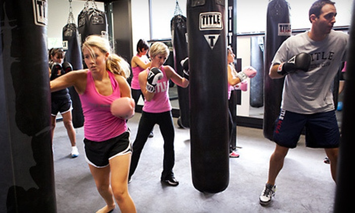 Title Boxing Club - Multiple Locations: Two Weeks of Boxing and Kickboxing Classes for an Individual or Family at Title Boxing Club (Up to 91% Off)