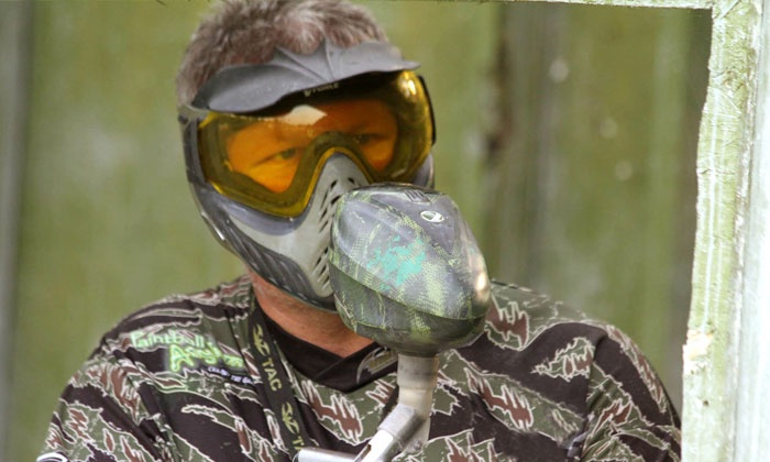 Backyard Boyz Battlegroundz - White River: All-Day Paintball Package for Two, Four, Six, or Eight at Backyard Boyz Battlegroundz (Up to 68% Off)