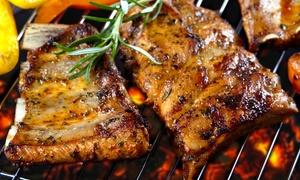 Trattoria alla Gradea: Menu carne IGP con un kg di grigliata e bottiglia di vino per 2 o 4 persone da Trattoria alla Gradea (sconto fino a 70%)