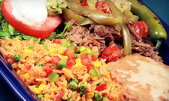 Burritos Mexican Grill - Denham Acres: $9 for $16 Worth of Mexican Entrees for Dinner or Lunch at Burritos Mexican Grill