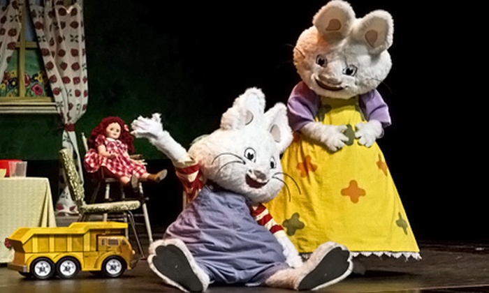 "Max & Ruby: Nutcracker Suite 2012 - The Tower Theater: ""Max & Ruby: Nutcracker Suite 2012"" at Tower Theatre on Saturday, December 8, at 1 or 4 p.m. (Up to 49% Off)"